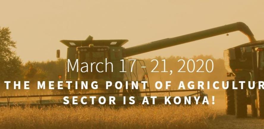 Sajam poljoprivrede i mehanizacije Konya Agriculture 2020.