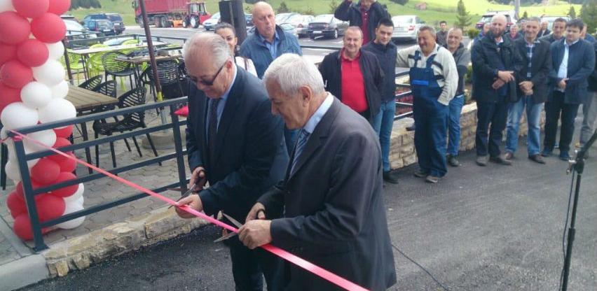 Gudelj otvorio pumpu na Vlašiću i najavio milionske investicije