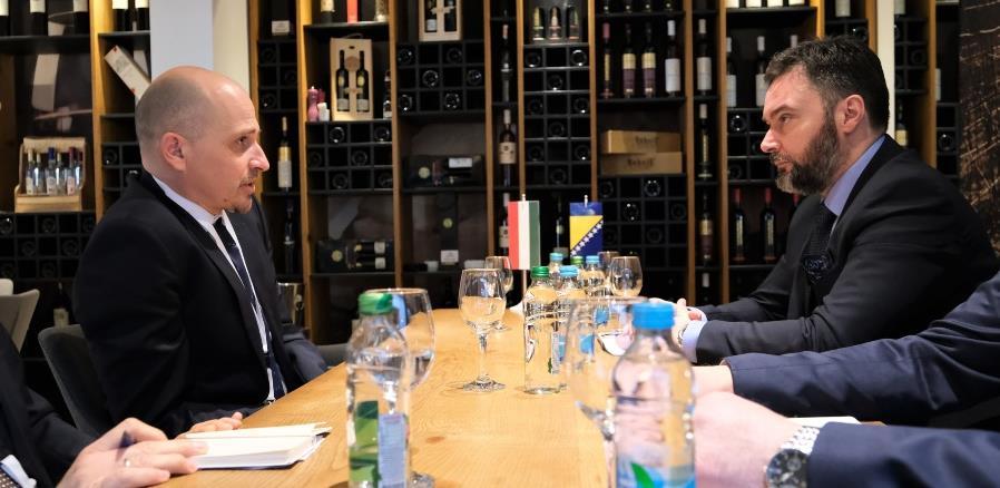 Košarac i Pósa razgovarali o unapređenju saradnje između BiH i Mađarske