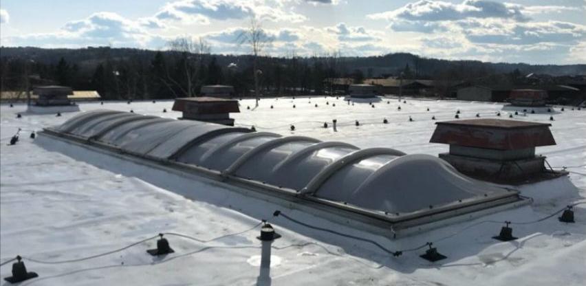 Završena rekonstrukcija krova na Sportsko kulturnom centru u Derventi
