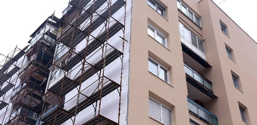 Još sedam stambenih objekata u Zenici dobija novu termo-izolacionu fasadu