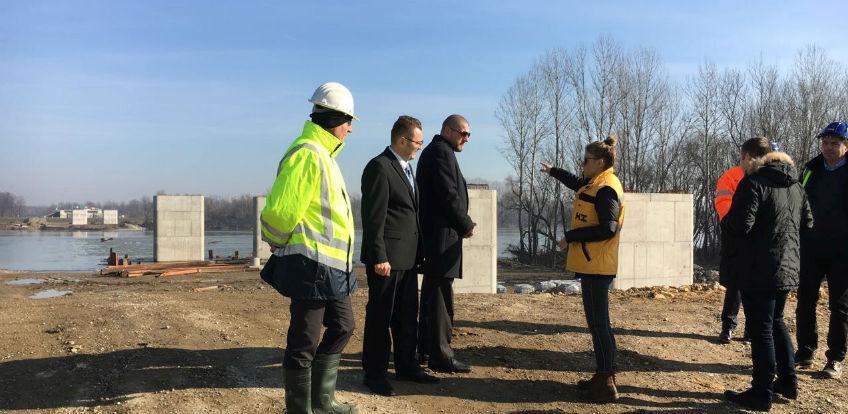 Do kraja januara biće realizirano oko 40 posto projekta most Svilaj