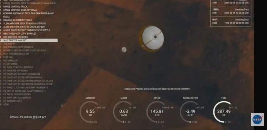 NASA-in rover sletio na Mars u krater Jezero nazvan po općini u BiH