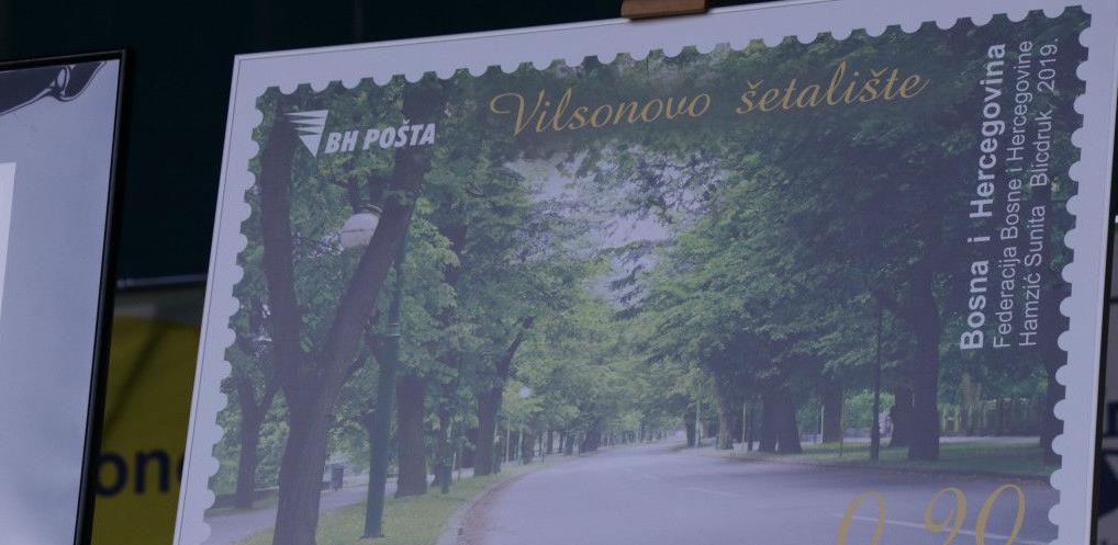 Predstavljena poštanska markica s motivom Vilsonovog šetališta