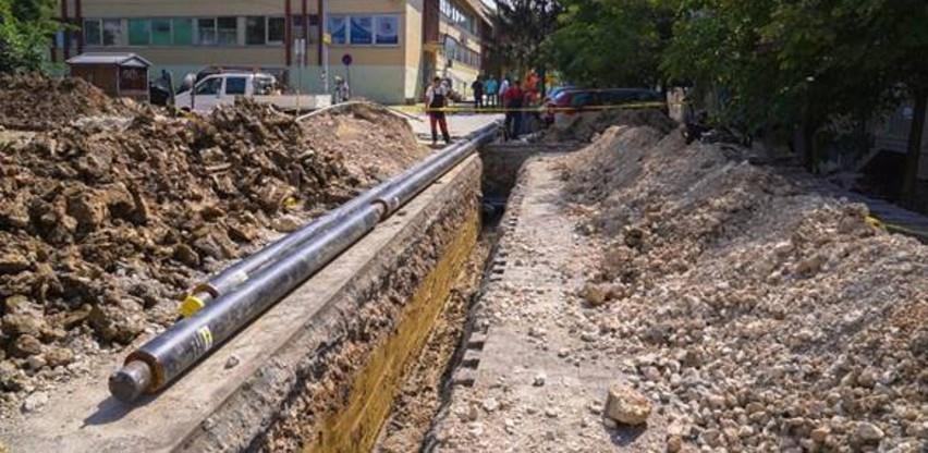 Završena izgradnja toplovoda u zoni 2 u Srebreniku