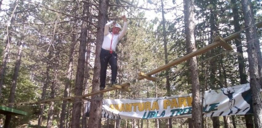Na Ublima kod Trebinja otvoren prvi avanturistički park