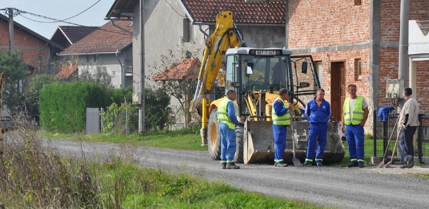 Prijedorputevi započeli izgradnju nove vodovodne mreže u naselju Vrbice