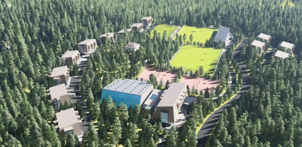 Počeli radovi na izgradnji infrastrukture oko Poslovno-sportskog centra Trnovo