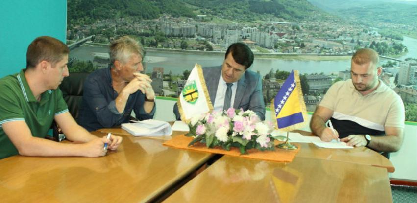 Potpisana tri ugovora za izvođenje radova za uređenje Grada Goražda
