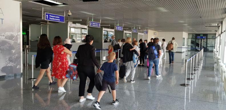 Aerodrom Sarajevo - U junu 28 posto više putnika nego u istom mjesecu lani