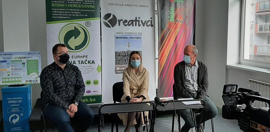Centar za mlade Zenica uveden u sistem upravljanja ambalažnim otpadom
