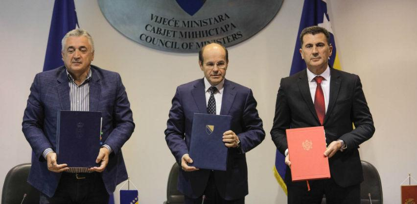BiH, Srbija i Crna Gora potpisale protokol o određivanju tromeđne tačke