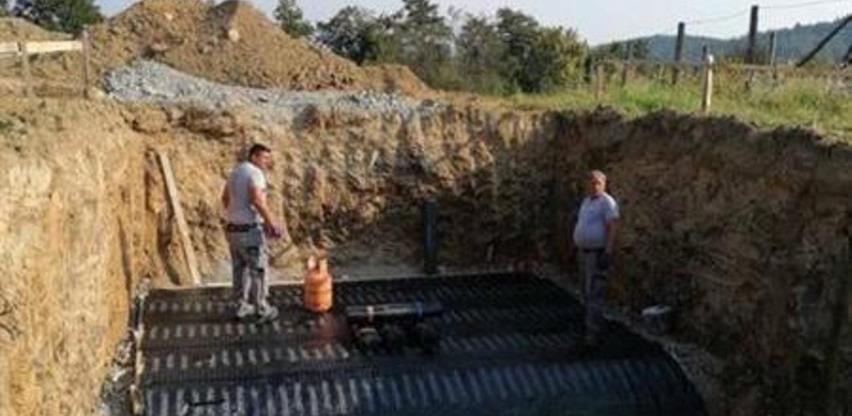 Počela izgradnja rezervoara za vodu u Opsječkom