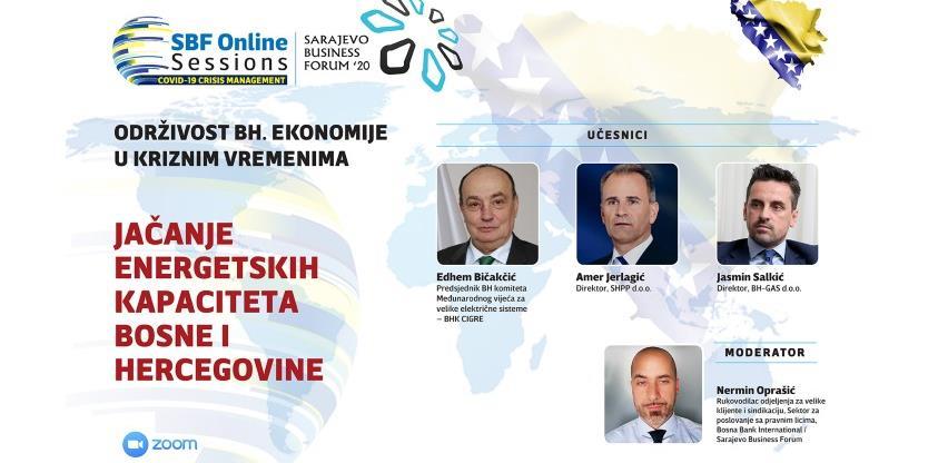 SBF Online Session #2: Energetika mora postati državni prioritet BiH