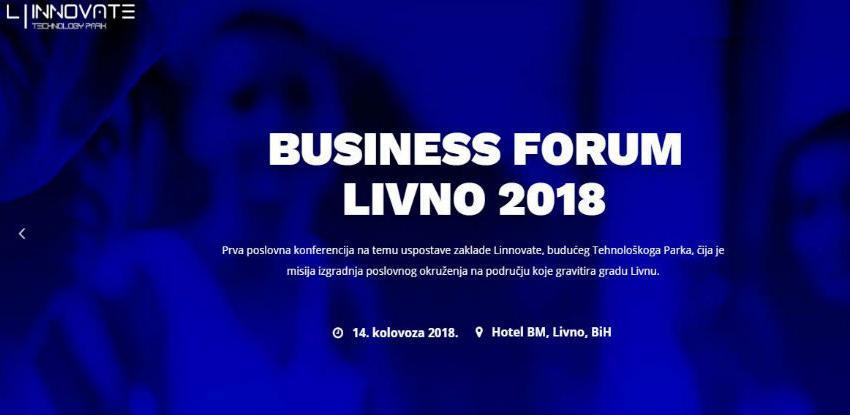 Sutra počinje Business Forum Livno 2018, osniva se i Tehnološki park