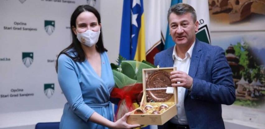 Karić i Hadžibajrić razgovarali o rekonstrukciji Opservatorija na Trebeviću