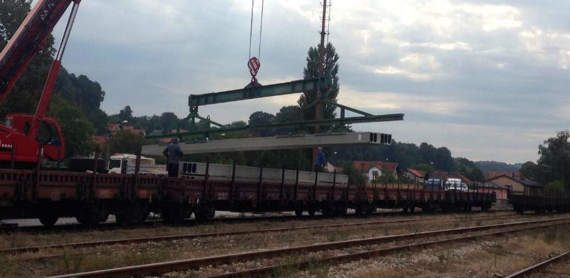 Željeznice FBiH prevoze robu do Švedske