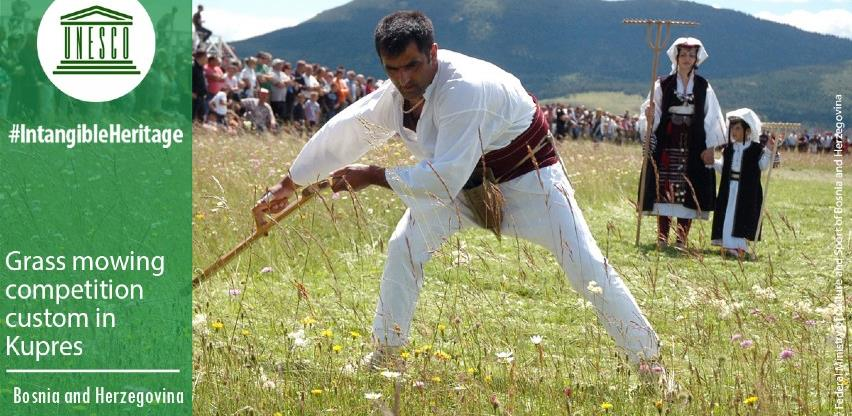 Kupreška kosidba upisana na UNESCO listu nematerijalne kulturne baštine