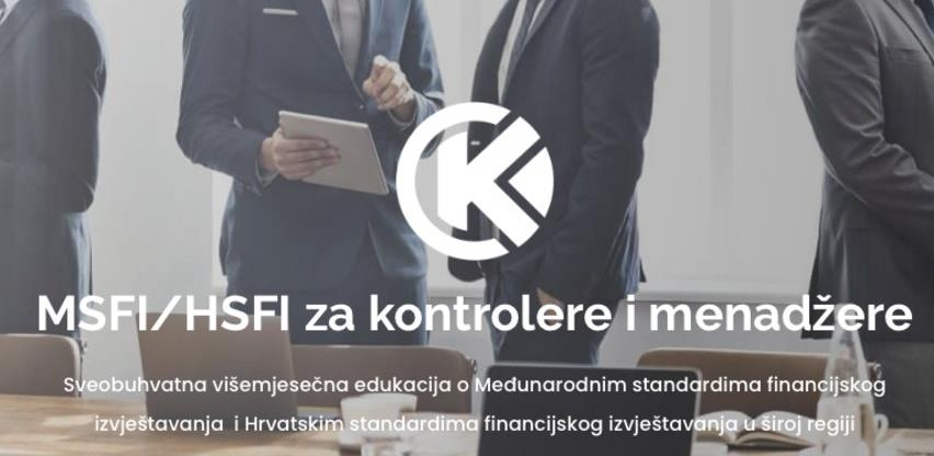 Edukacija MSFI/HSFI za kontrolere i menadžere uz Kontroling Kognosko d.o.o.
