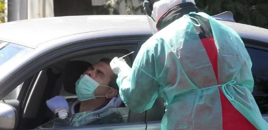 """Zagreb: """"Drive in"""" testiranje na koronavirus, brz i pouzdan test"""