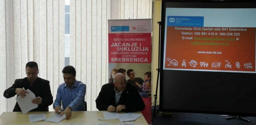 Socio-ekonomsko jačanje i inkluzija ugroženih porodica u opštini Srebrenica