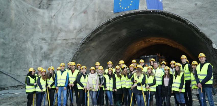 """Počela gradnja tunela """"Zenica"""" na poddionici koridora Vc Ponirak - Vraca"""