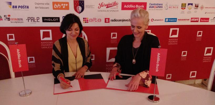 Addiko Bank se pridružila porodici sponzora Narodnog pozorišta Sarajevo