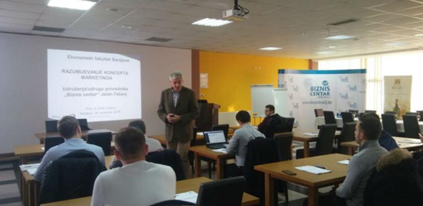 Biznis centar Jelah-Tešanj - Edukacija za jačanje poslovnih vještina