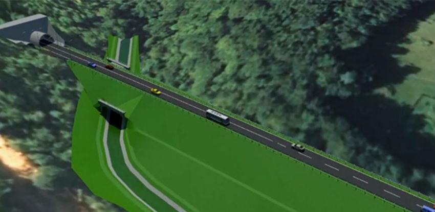 Euro - Asfalt vrši proboj glavne cijevi za tunel Hranjen, posao od 81,8 mil. KM