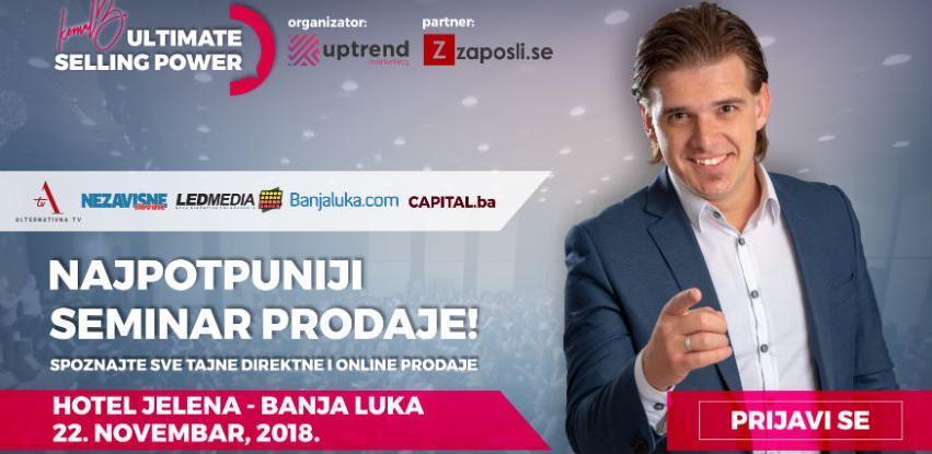 Najpotpuniji seminar prodaje stiže u Banja Luku