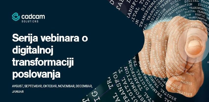 Serija besplatnih webinara o digitalnoj transformaciji poslovanja