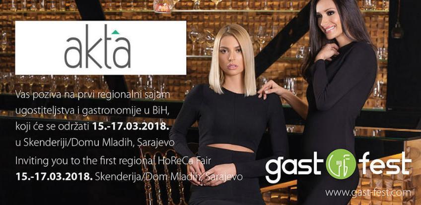 Posjetite prvi regionalni sajam gastronomije i ugostiteljstva u BiH
