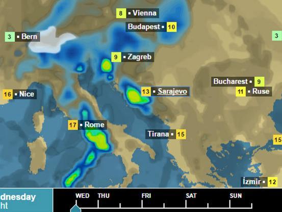 Narandžasto upozorenje: Najavljene još obilnije padavine