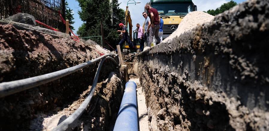 U toku izgradnja posljednje dionice cjevovoda za rezervoar Sokolje