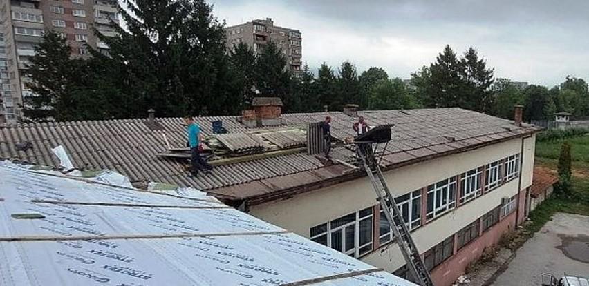 Počeli radovi na zamjeni krova objekta Doma vojske Federacije BiH u Zenici