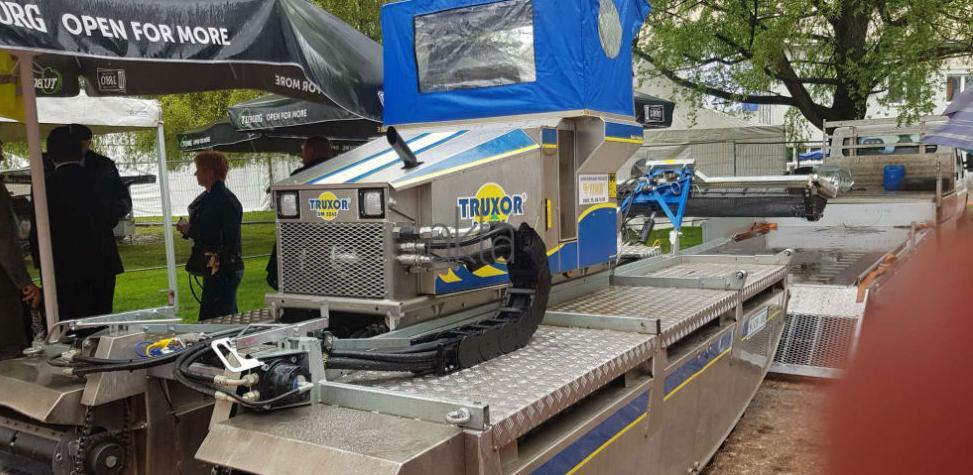 Na sajmu LIST Wintec predstavio Truxor - stroj za čišćenje jezera