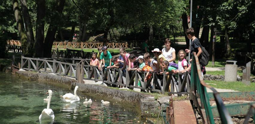 U julu i augustu više od 95.000 posjetilaca na Vrelu Bosne