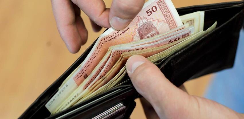 Najveća prosječna plata u RS isplaćena u februaru iznosi 1.448 KM