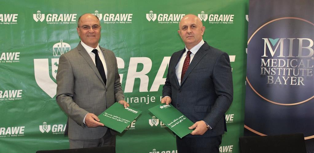 Poslovna saradnja Grawe osiguranja Sarajevo i Medical Institute Bayer Tuzla