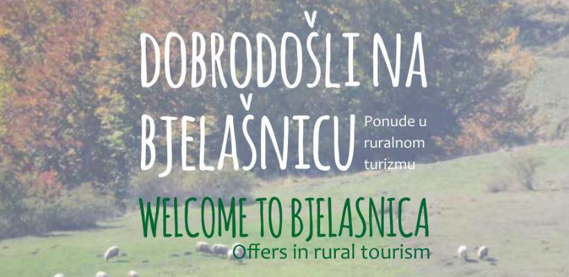 Napravljena prva mapa ruralnih turističkih ponuda planine Bjelašnica
