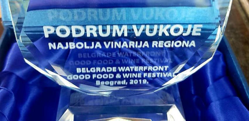 Vinarija Vukoje najbolja vinarija regije