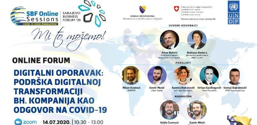 """Poziv na 5. SBF online sesiju """"Digitalni oporavak"""""""