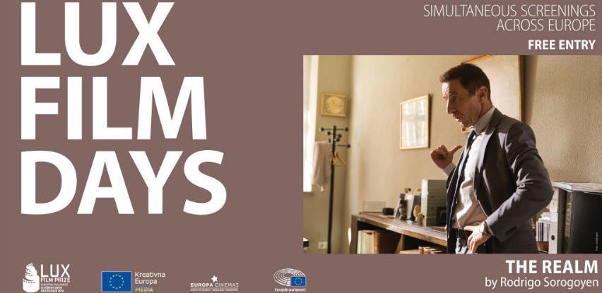 Cinema City dio velikog europskog simultanog prikazivačkog eventa Lux Film Days