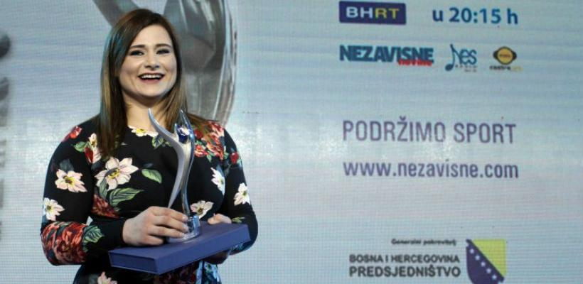 Larisa Cerić i Damir Džumhur najbolji sportisti BiH u 2017.godini