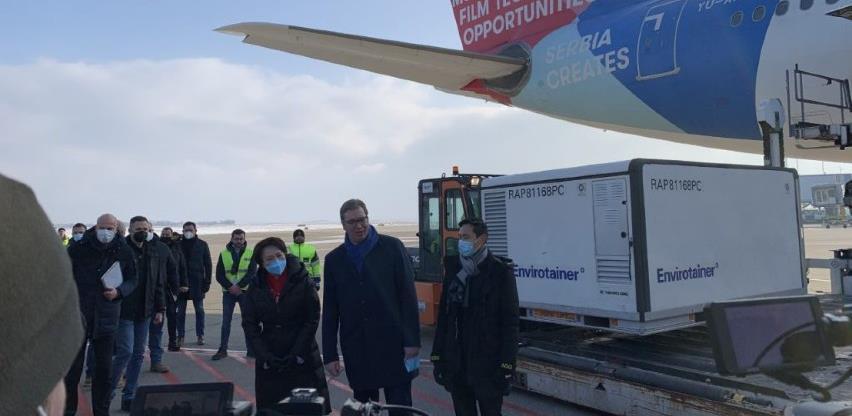 Kineska vakcina stigla u Srbiju