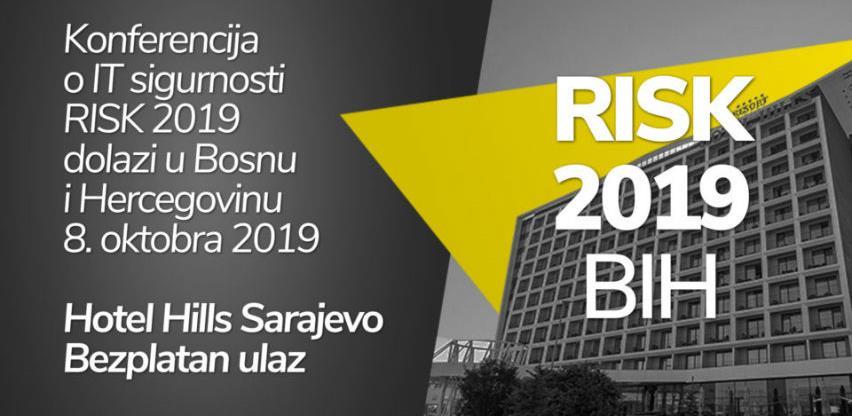 Konferencija RISK dolazi u Bosnu i Hercegovinu 8. oktobra 2019.