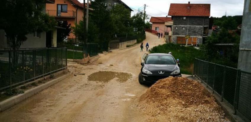 Novi Grad angažirat će drugu firmu koja će završiti sanaciju ulice na Sokolju