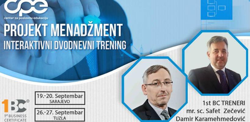 Seminar: Projekt menadžment - 1st Business Certificate