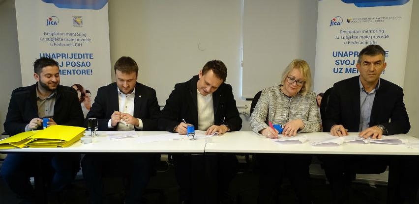 Potpisani ugovori o pružanju mentoring usluga za subjekte malog gospodarstva