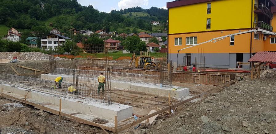 U Aquatermu počela izgradnja zatvorenog bazena